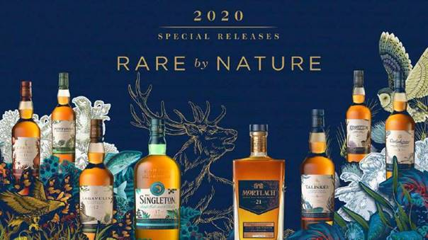 """A Quick Look at Diageo's 2020 """"Rare by Nature"""""""