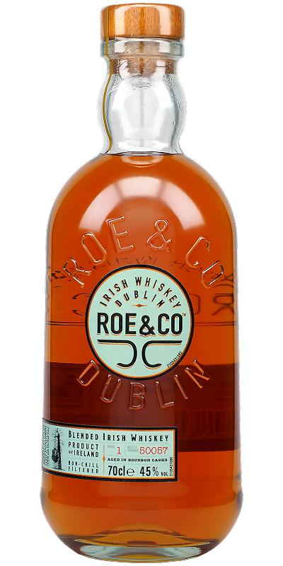 Roe & Co Blended Irish Whiskey - 70cl 45%