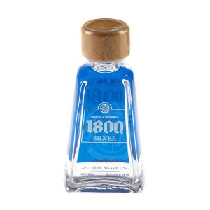1800 Silver Tequila Miniature - 5cl 40%