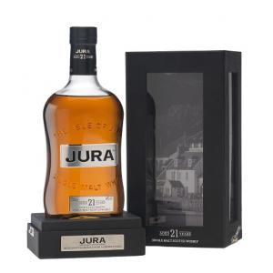 Isle of Jura 21 Year Old Single Malt Scotch Whisky - 70cl 44%