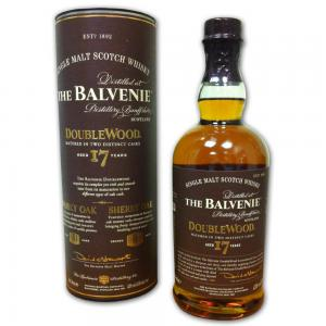 Balvenie 17 Year Old Doublewood Single Malt Scotch Whisky - 70cl 43%