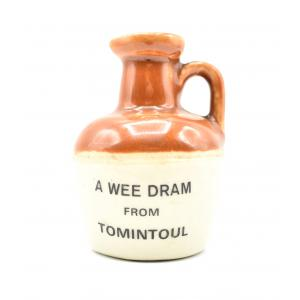 A Wee Dram Tomintoul Ceramic Decanter - 40% 5cl