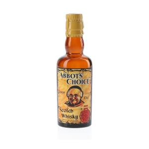 Abbots Choice Bottled 1950s-1960s John McEwan & Co Whisky Miniature - 5cl 40%