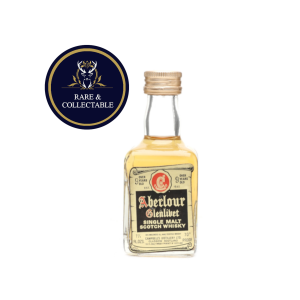 Aberlour Glenlivet 9 Year Old Miniature - 5cl 70 Proof