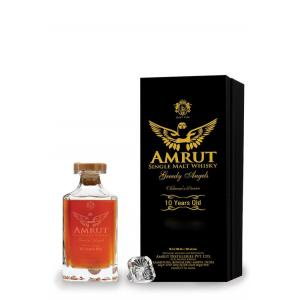 Amrut Greedy Angels 10 Year Old Unpeated Bourbon Cask - 55% 70cl