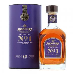 Angostura No.1 16 Year Old French Oak Cask Collection Dark Rum - 70cl 40%