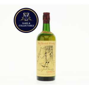 Antiquary De Luxe Circa 1960s Old Scotch Whisky - 70 Proof