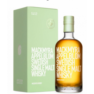 Mackmyra Appelblom Swedish Whisky - 70cl 46.1%