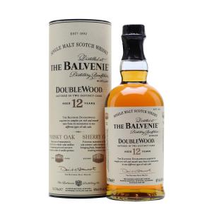 Balvenie 12 Year Old Doublewood Single Malt Scotch Whisky - 70cl 40%