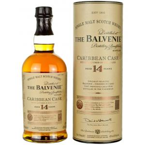 Balvenie 14 Year Old Caribbean Cask Single Malt Scotch Whisky - 70cl 43%