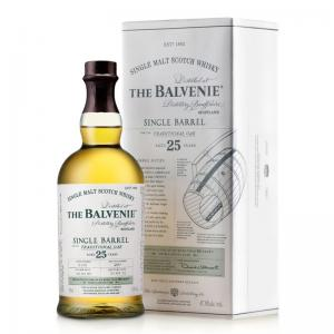 Balvenie 25 Year Old Single Barrel Single Malt Traditional Oak - 70cl 47.8%