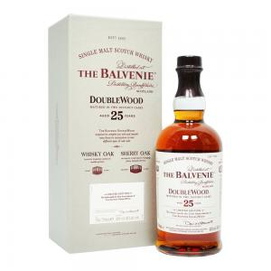Balvenie 25 Year Old Doublewood Single Malt Scotch Whisky - 70cl 43%