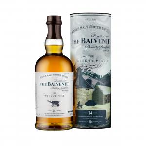 Balvenie 14 Year Old Stories Week of Peat - 70cl 48.3%