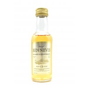 Ben Nevis 12 Year Old Whisky Miniature - 40% 5cl