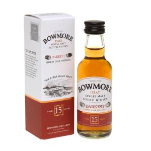 Bowmore 15 Year Old Miniature - 5cl 43%