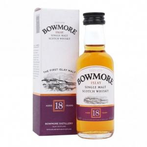 Bowmore 18 Year Old Miniature - 5cl 43%