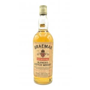 Braemar Special Blended Scotch Whisky 60/70s - 70 Proof 26 2/3 FL