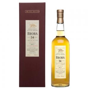 Brora 34 Year Old 2017 Release - 70cl 51.9%