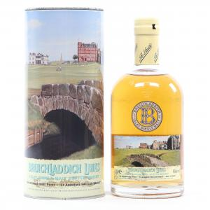 Bruichladdich 10 Year Old St Andrews Swilcan Bridge - 46% 50cl