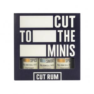 Cut Rum – Cut To The Minis 3x5cl Gift Pack
