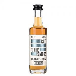Cut Smoked Rum Miniature - 40% 5cl