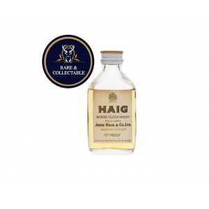 Haig Gold Label Blended Scotch Whisky Miniature - 5cl 70 Proof