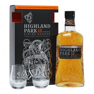 Highland Park 12 Year Old Viking Honour Glass Gift Pack