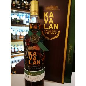 Kavalan Solist Amontillado Cask Limited Edition Signed Bottle Whisky - 70cl 56.3