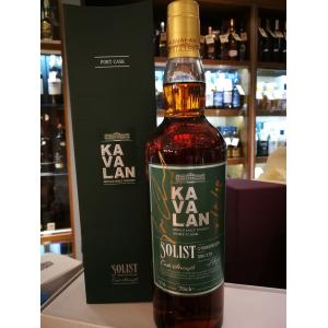 Kavalan Solist Port Cask Limited Edition Signed Bottle Whisky - 70cl 57.8%