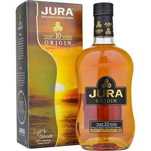 Isle of Jura 10 Year Old Origin Single Malt Whisky - 70cl 40% (End of Line)