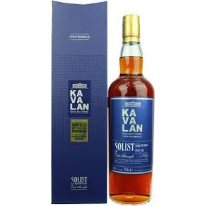 Kavalan Solist Vinho Barrique Single Malt Whisky - 70cl 56.3%