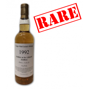 Littlemill Andy Bailey 1992 Single Malt Scotch Whisky - 70cl 58%