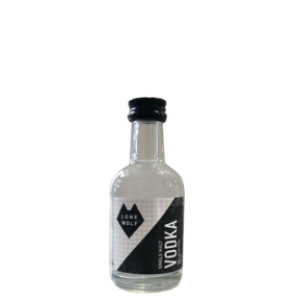 Lone Wolf Vodka Miniature - 40% 5cl