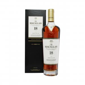 Macallan 18 Year Old 2020 Sherry Oak - 70cl 43%