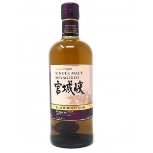 Nikka Miyagikyo Rum Wood Finish 2017 Single Malt Whiskey - 70cl 46%