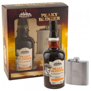 Peaky Blinders Rum & Hip Flask Gift Pack 70cl