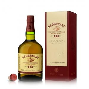 Redbreast 12 Year Old Single Pot Still Irish Whiskey - 70cl 40%