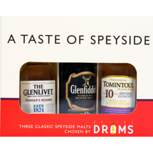 A Taste of Speyside 3 x 5cl Gift Pack