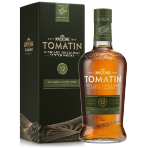 Tomatin 12 Year Old Bourbon & Sherry Cask Finish - 70cl 43%